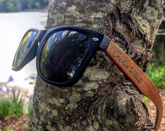 Walnut Wood Sunglasses