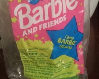 Vintage McDonald's Happy Meal Toy Barbie #3 Camp Barbie NIP