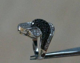 ON SALE Gorgeous CZ Silver Ring