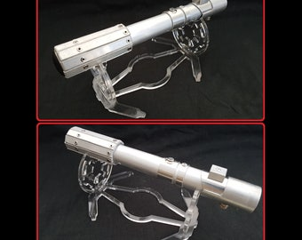 Star Wars Lightsaber Stand. Amazing bespoke Empire saber stand perfect for display full lightsaber or just a hilt.