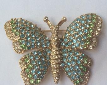 Charming Ciner butterfly brooch