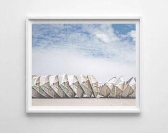 Nautical Art Printable, Boats on Beach Print, Ocean Art, Beach Decor, PRINTABLE Art, Home Decor, Instant Digital Download, Wooden Boat Print