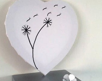 """prints """"the magic of dandelions"""" tree for about 20-30 people with 1 pad 4 colors available"""