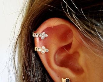 Gold ear cuff • Silver ear cuff • minimalist ear cuff dainty ear cuff • Minimalist • jewelry • For her • Non pierced