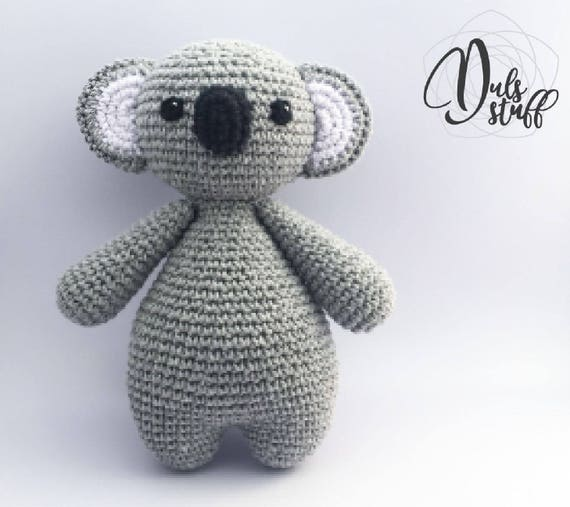 Koala Amigurumi Crochet Koala Little Koala Amigurumi Koala
