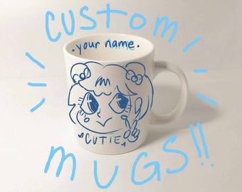 CHIBI MUG COMMISSION