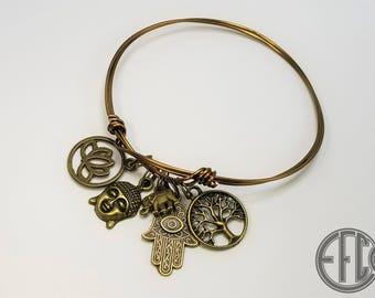 Bohemian Style Charm Bracelet