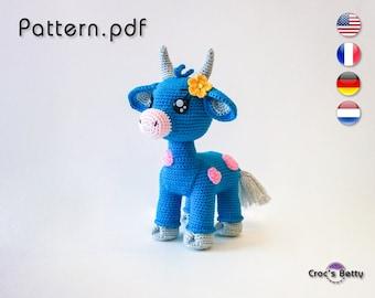 Pattern - Cornflower the Cow