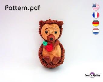 Pattern - Achu the little Hedgehog