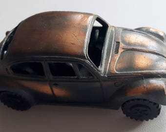 Vintage Die Cast VW Beetle Pencil Sharpener
