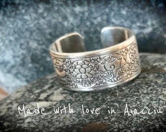 ring adjustable Buddhist mantras words