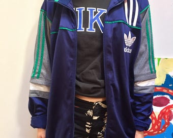 adidas jacket mixed vintage 90's