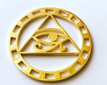 Eye of Horus Gold 24k Plated Tool