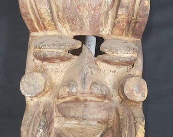 Antique Dan Guere Tribal Mask Of The Ivory Coast
