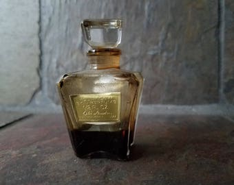 Vintage Youth Dew Skin Perfume by Estee Lauder Mini Glass Bottle Made in France