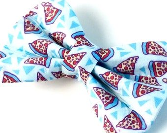 Pizza Bow Tie | Bow Tie for Dogs | Dog Bow Tie | Food Bow Tie | Foodie Bow Tie