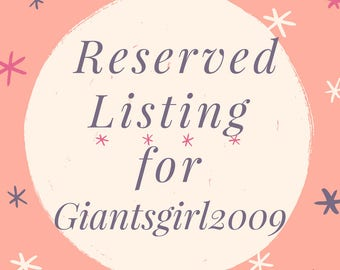 Giantsgirl2009 Custom Key Fob listing