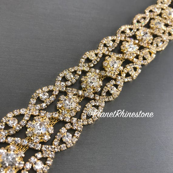 Gold Crystal Trim  #0102