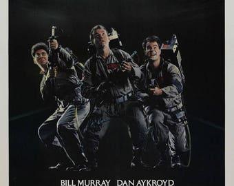 Back to School Sale: GHOSTBUSTERS Movie Poster 1984 Bill Murray Dan Akroyd