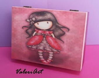 Handmade decoupage box!!!