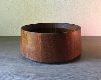 Vintage Dansk teak wood salad bowl or fruit bowl by Jens Quistgaard