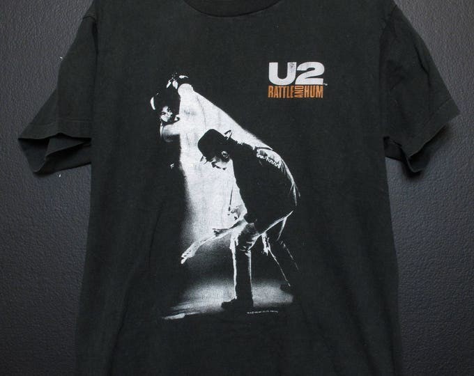U2 Rattle and Hum 1988 vintage Tshirt