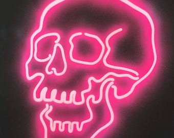 SKULL WALL PICTURE