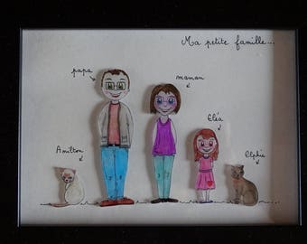 Customizable family the perlinpinpot's frame