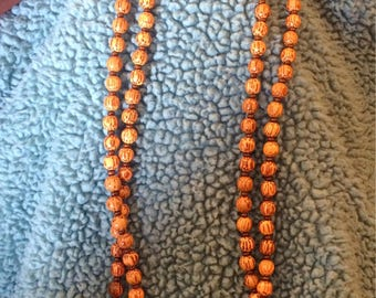 Double Wrap Beaded Necklaces