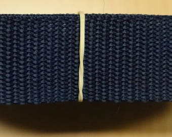 Strap 30 mm Navy Blue 5 meters