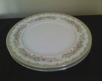 Kenwood Japan Set of 2 Dinner Plates