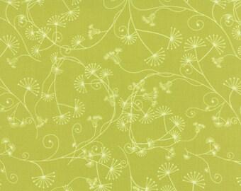 Moda FLOW Quilt Fabric 1/2 Yard By Zen Chic - Egeria Apple 1592 18