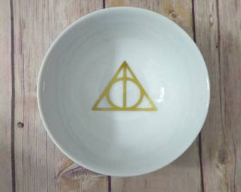 Harry Potter  Ring Dish - Ring Dish - Hyrule Love - Ring Trinket Dish - Always love Ring Dish -HP wedding - Harry potter love