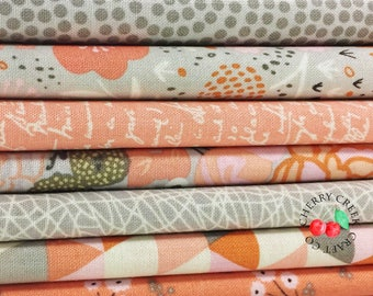 Ava Rose 1/2 Yard Fabric Bundle - Riley Blake Designs - 7 pieces
