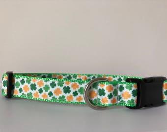 St. Patricks Day 1 inch Collar