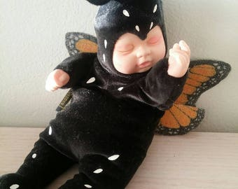 Vintage Anne Geddess Baby Butterfly Doll