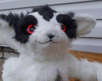 Toki, fantasy creature, fairy, pixie, plush toy, white creature, game spirit, battlerite item, fennec