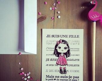 """Postcard """"little heart"""""""