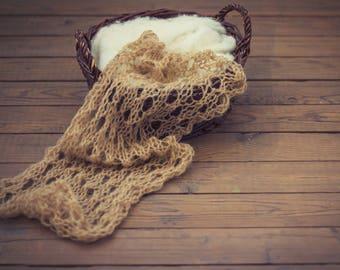 Newborn wraps/photo prop wrap/mohair wrap/knit lace wrap/wrap photo/lace stretch wrap/newborn photo props/mohair blanket/mohair newborn/prop