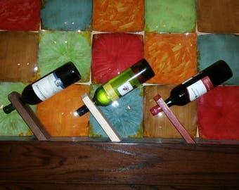 Anti Gravity Wine Holder / Housewarming Gift / Anniversary Gift / Unique Gift / Wedding Gift / Fun Gift
