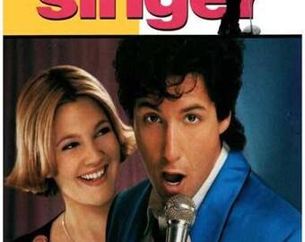 The Wedding Singer Movie Adam Sandler Drew Barrymore   Rare Vintage Poster
