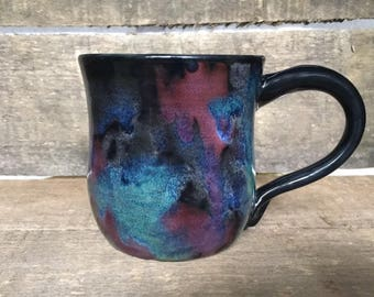 Galaxy mug/ Pottery Mug/ Ceramic Mug/ Handmade Mug/ Mug/ Coffee Mug/ Fathers Day Gift/ Birthdat Gift/ Gift for Her/ Gift for Him