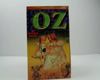 The wizard of Oz VHS Tape silent Film