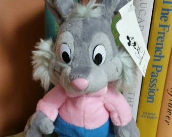 Disney's Song of the South Brer Rabbit Plush Beanie from DisneyWorld/10 Inch Tall Collectible Plush Toy/Collectible Disney Souvenir