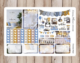 Everyday Magic Mini Kit   Stickers for your Erin Condren, Happy Planner, Kikki K, Filofax and more