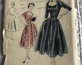 A vogue original dressmaking pattern  1950s coat and dress vintage mid century