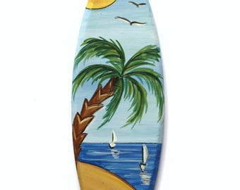 Decorative surfboard Beach Hut