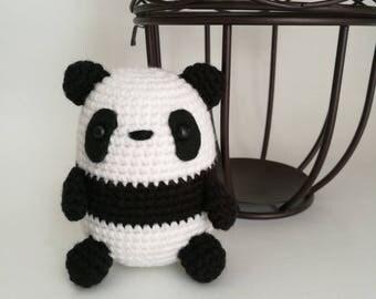 PDF PATTERN: Panda Amigurumi, Crochet Panda