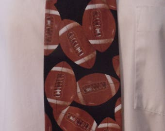 Football, Sport Novelty Men's Necktie