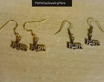 Paris With Eiffel Tower earrings